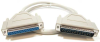 10ft DB37 M/F Serial Straight Thru Extension Cable -- D720-10 - Image