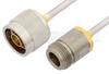 N Male to N Female Cable 60 Inch Length Using PE-SR402AL Coax -- PE34289-60 -Image