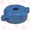"PANDUIT PSL-V2BLU ( (PRICE/PC) GATE VALVE LOCKOUT, ACCOMMODATES 1.00"" "" 2.50"" DIAMETER HANDLE, BLUE. ) -Image"
