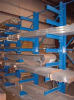 Cantilever Racking - Structural: Single-Sided Cantilever Uprights -- SAC-848