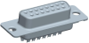 Cable Assemblies and IO cable connectors, IO cable connectors, D-Subminiature, D-Subminiature Cable Signal and Power, Contact type=Signal -- DAP15S065TLF - Image