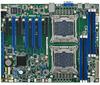 Dual LGA 2011-R3 Intel® Xeon® E5-2600 v3/v4 ATX Server Board with DDR4, 4 PCIe x16, 6 USB 3.0, SATA3, Dual LAN, IPMI 2.0 -- ASMB-823 -Image