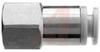 Fitting, Pneumatic; female union, 1/4 inch thread, for 3/8 inch OD tubing -- 70071894