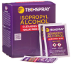 Techspray 1610 Isopropyl Alcohol Wipes (50 ct) -- 1610-50PK -Image
