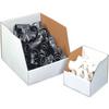 "12"" x 18"" x 10"" - Jumbo Open Top Bin Boxes -- BINJ121810 -- View Larger Image"