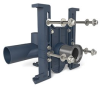 Z1201-H EZCarry® High Performance Adjustable Horizontal Siphon Jet Hub and Spigot Water Closet Carrier -- View Larger Image