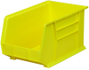 Akro-Mils Akrobin 60 lb Yellow Industrial Grade Polymer Hanging / Stacking Storage Bin - 18 in Length - 11 in Width - 10 in Height - 1 Compartments - 30260 YELLOW -- 30260 YELLOW
