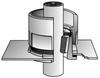 Rigid/EMT Conduit Cabinet Compound Bushing -- HPE-300