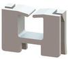 Wire Saddle - Panel Cutout -- EWSE-12.8-01 -- View Larger Image