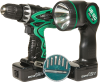 12V Cordless Drill and Flashlight -- 8295305 -- View Larger Image