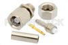 SMC Plug Connector Crimp/Solder Attachment for RG178, RG196 -- PE4074 -Image