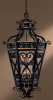 N6116-20 Foyer/Hall Lanterns-Glass w/Frame -- 779711