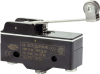 MICRO SWITCH BZ Series Premium Large Basic Switch, Single Pole Double Throw Circuitry, 15 A at 250 Vac, Roller Lever Actuator, Screw Termination, Silver Contacts, UL, CSA, ENEC -- BZ-2RW8255T-S -Image