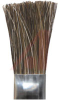 Brush; horse hair bristle 1/4x3/8x3/4; 6 in tin handle -- 70125519 - Image
