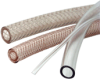 Clear Braided Reinforced PVC Hose -- IR-14120 - Image