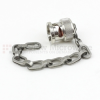 BNC Male Open Circuit Connector Cap with 4 Inch Chain -- SC2029 -- View Larger Image