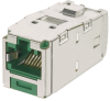 Safety & Security : Physical Network Security : Keyed Copper Connectivity : Keyed Jack Modules : Category 6 -- CJSK688TGGR