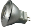 MR11 LED 12V 1W White -- LMR11-1-W