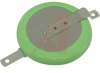 Battery, Lithium, Coin Cell, High Temp,Incl. Insulation Wrap, 3V, 255mAh, Tabs -- 70196828 - Image