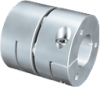 GERWAH? RING-flex? Aluminium Clamping Hub Coupling Without Spacer -- CCS