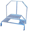 Mobile Aluminum Step Stand