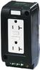 MSVD power socket NEMA mounting rail -- 67982