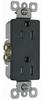Duplex/Single Receptacle -- S885-TRBKCC14