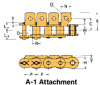 BS/DIN Chain Attachment Series -- RS08B A-1 - Image