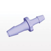 Straight Reducer Connector, Barbed, Purple Tint -- HSR8691 -Image