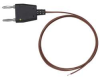 Banana Plug Temp Probe,Type K,-40to 500F -- 6JHW5