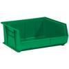 "14 3/4"" x 16 1/2"" x 7"" Green - Plastic Stack & Hang Bin Boxes -- BINP1516G -- View Larger Image"