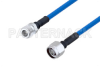 Plenum N Female to N Male Low PIM Cable 60 Inch Length Using SPP-250-LLPL Coax , LF Solder -- PE3C4138-60 -Image