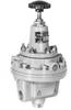 Pressure Regulator Tapped Exhst Air Load Prv, 1.5-100PSIG, 1/4