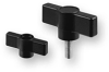 Omega Series Bar Clamping Knobs -- OMEGA-40-H