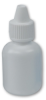 15cc White Boston Round Bottle with 15 mm Dropper Cap -- 66460