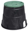 Valve Box,HDPE,10 In -- 6FTG7