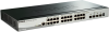 28-Port Gigabit Stackable SmartPro Switch including 4 10GbE SFP+ ports -- DGS-1510-28X -- View Larger Image