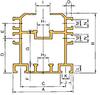 DOUBLE PLUS® Aluminum Guide Rail -- C2060VRP-R4L -Image