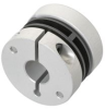 Spring disc coupling electrically isolating -- E60117