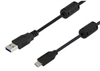 USB 3.0 Cables Type A male to Type C male w/ferrites 1M -- U3A00011-1M -Image