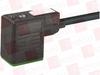 MURR ELEKTRONIK 7000-10041-6360750 ( MSUD VALVE PLUG FORM B 10 MM, PUR 3X0.75 BLACK UL/CSA, DRAG 7.5M ) -Image