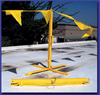 Portable Warning/ Barrier System -- Kwik-Stand