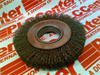 WEILER 03596947 ( WIRE BRUSH WHEEL CRIMPED 6IN 6000 MAX RPM ) -Image