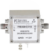 4 dB NF, 0.3 MHz to 6.5 GHz, Low Noise Broadband Amplifier with 17 dBm, 39 dB Gain, 29 dBm IP3 and SMA -- FMAM3310 -Image