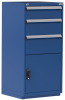 Heavy-Duty Stationary Cabinet , 3 Drawers (30