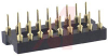 Socket, DIP;18Pins;Low Profile;Open;Solder Tail;0.3In.;Beryllium Copper;Gold;SMD -- 70206544 - Image