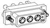 Nanominiature Coaxial Connectors -- CX055PC2RC006N