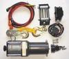 Electric Winch,6.5 fpm,1000 lb.,12VDC -- 1DMP7