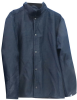 Chicago Protective Apparel Blue Large Oasis Welding & Heat-Resistant Jacket - 30 in Length - 600-ON12 LG -- 600-ON12 LG - Image