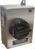 3 Pole Stainless Steel Enclosed Motor Disconnect Switch -- KER425UL Y/R -Image